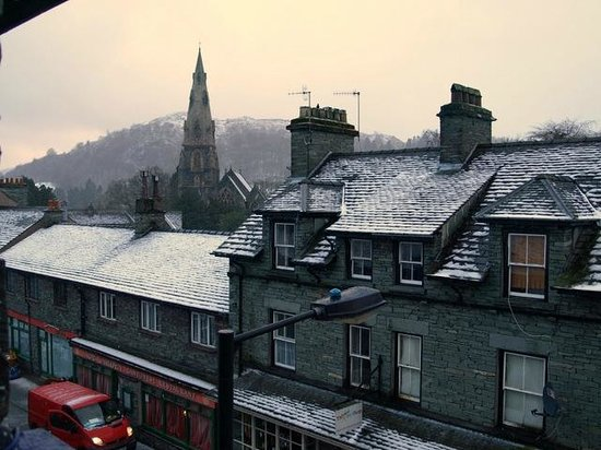 Smallwood House Hotel:                   View from our window