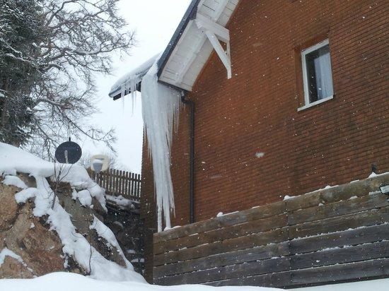Berggasthof Rössle:                   -15 degrés cet hiver ...