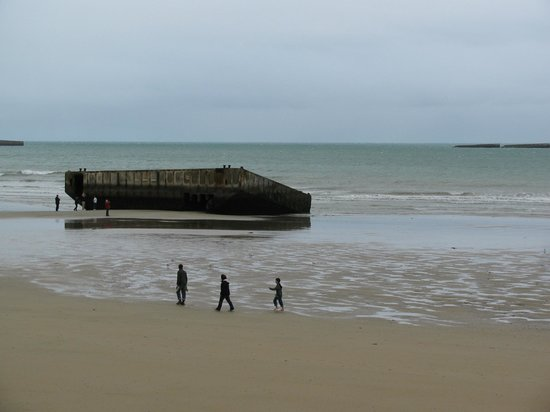 D-Day Beaches (Plages du Debarquement de la Bataille de Normandie):                   D Day beaches
