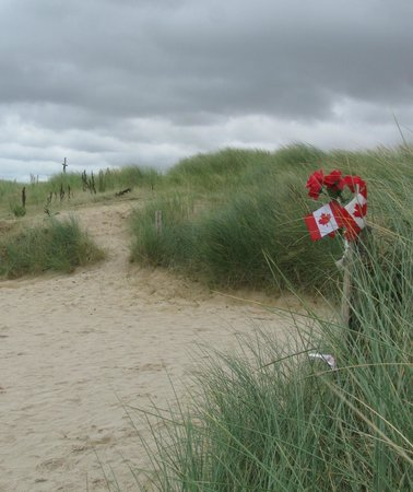 D-Day Beaches (Plages du Debarquement de la Bataille de Normandie):                   Juno beach