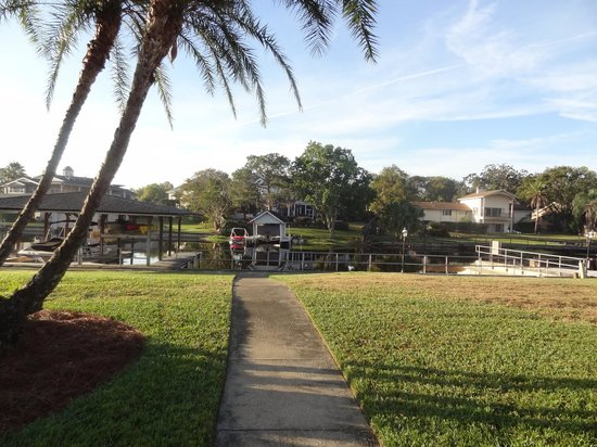 Arnold Palmer's Bay Hill Golf Club:                   Backyard