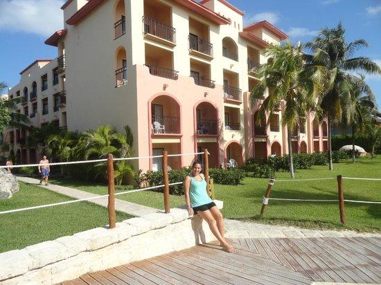 Sandos Playacar Beach Resort: Las habitaciones con vista a la playa