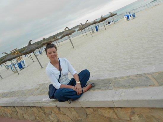 Hotel Som Fona:                   пляж