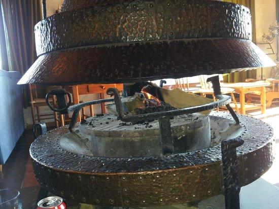 Hotel Terralta:                   chimenea de sala de estar