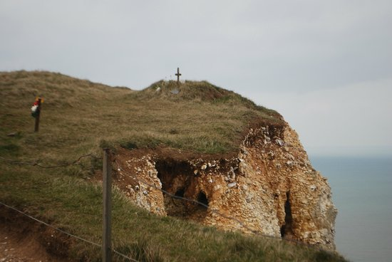 Eastbourne, UK:                   Suicide spot at beachy head