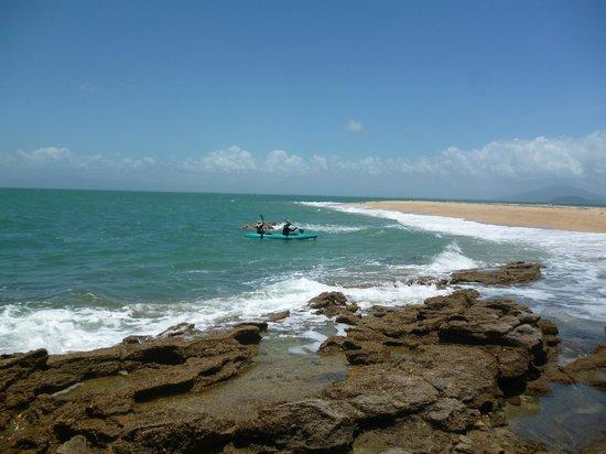 Mission Beach Charters:                   Kayaking, Wheeler Island