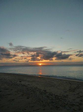 Mission Beach Charters:                   Sunset, Wheeler Island