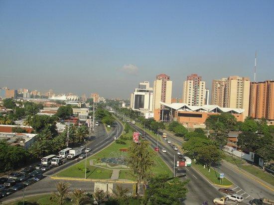 Hotel Los Leones:                   Vista a la ciudad desde la suite