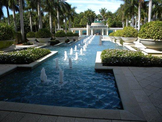 Hyatt Regency Coconut Point Resort & Spa:                   Terrace/lounge area to the pools.