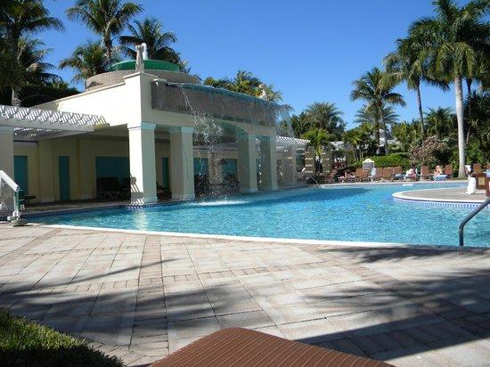 Hyatt Regency Coconut Point Resort & Spa:                   One of the pool areas.