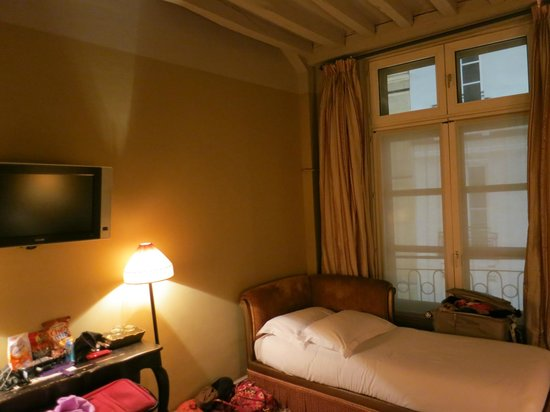 Hotel Odeon Saint-Germain: Twin in Triple Room