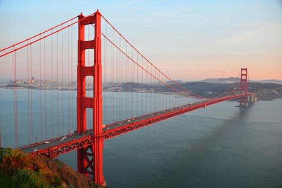 Golden Gate Bridge from Marin Headlands