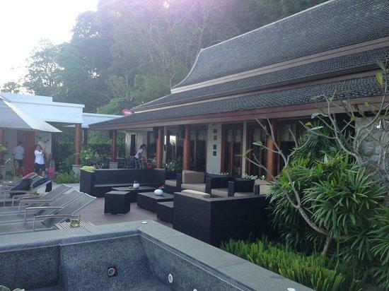 Baan Phu Prana Boutique Villa:                   The communal area
