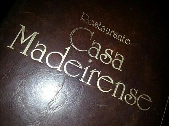 "Casa Madeirense Restaurante :                   lovely traditional ""deco"""