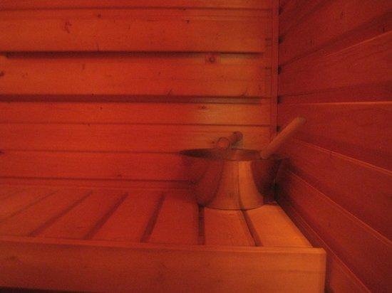 Hotel Jeris: sauna in cabin