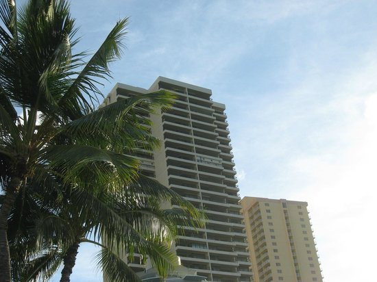 The Residences at Waikiki Beach Tower: Across the street