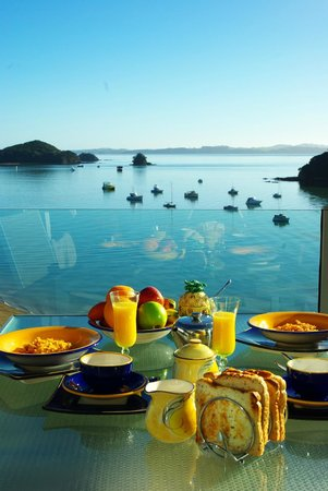 Allview Lodge: Breakfast with a view