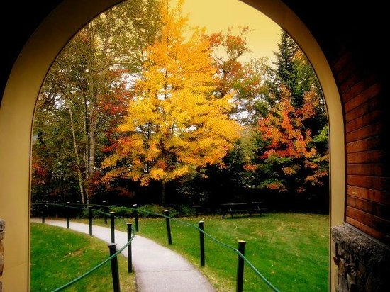 Golden Eagle Lodge: The Arch in the fall