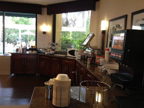 Hampton Inn Boca Raton:                   Lobby