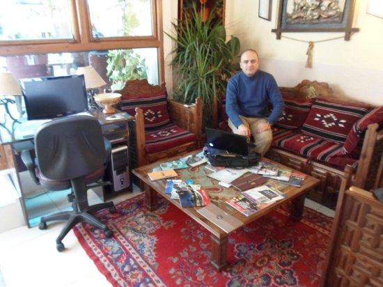 Sultanahmet Park Hotel:                   Owner Mr. Cumali Balpetek