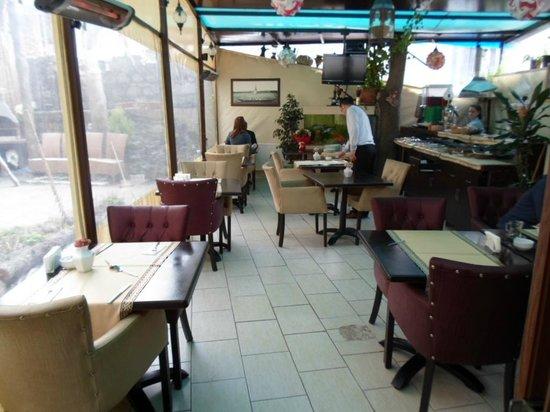 Sultanahmet Park Hotel:                   Breakfast area