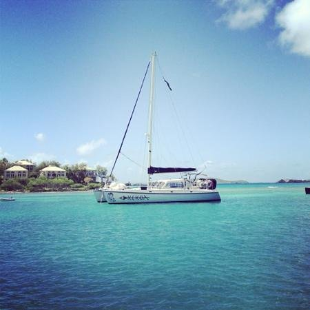 Kekoa Sailing Expeditions:                                     the boat