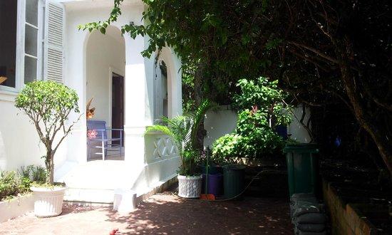 Casa 579:                                     Frente izquiedo de la casa