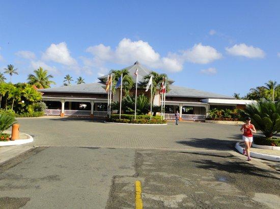 Grand Bahia Principe San Juan:                   Your view as you arrive at the main lobby