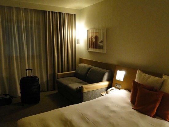 Novotel Brugge Centrum: Habitación de noche