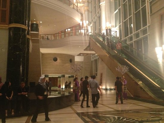 The Empire Hotel & Country Club:                                     part of main lobby..