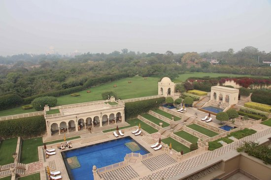 The Oberoi Amarvilas:                   View from our suite