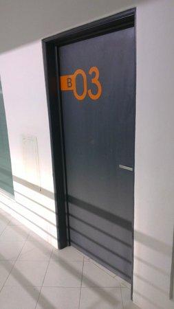 Hotel Villanueva: Acceso a habitacion