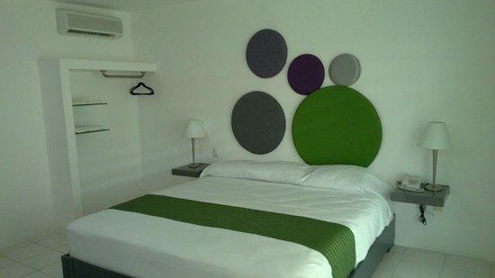 Hotel Villanueva: Cama