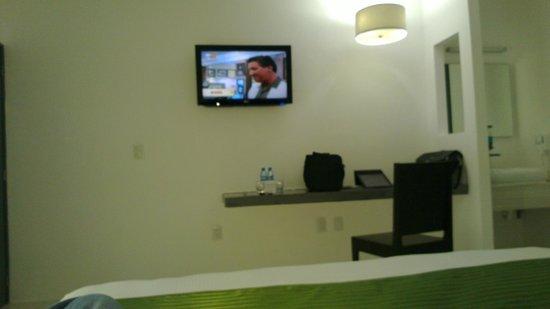 Hotel Villanueva: Espacio para poder trabajar un poco..