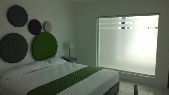 Hotel Villanueva: Vista hacia pasillo