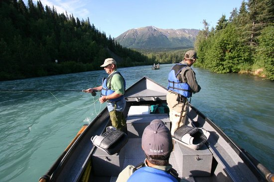 Kenai Riverside Lodge: Guided sportfishing with the best guides on the Kenai!