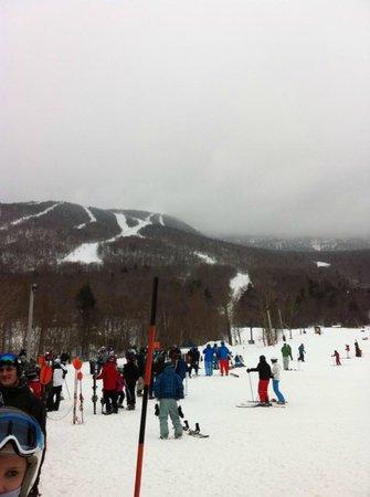 Stowe Mountain :                   big slopes