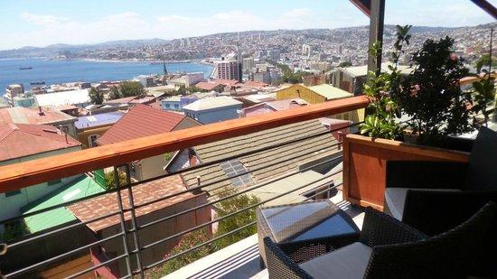 Hotel Boutique Acontraluz:                   Vista desde el balcón (habitación mas cara)
