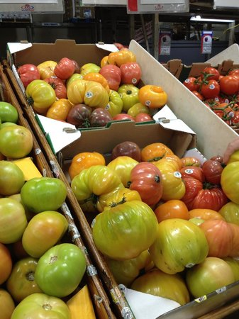 Your Dekalb Farmers Market: Heirloom tomatoes