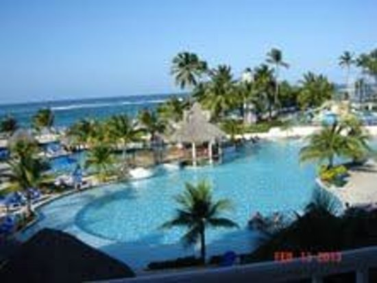 Occidental Caribe:                   BARCELO PUNTA CANA VIEW FROM ROOM