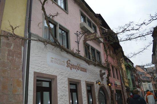 Hotel Kreuzblume:                   Entrance