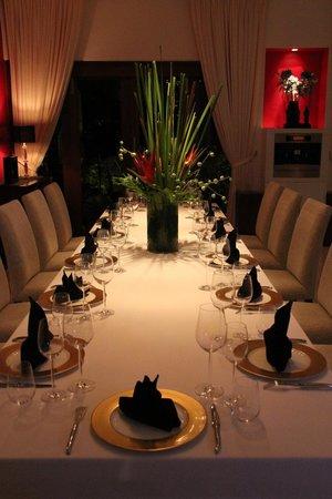 Mozaic Restaurant Gastronomique:                   The Private Dining Room