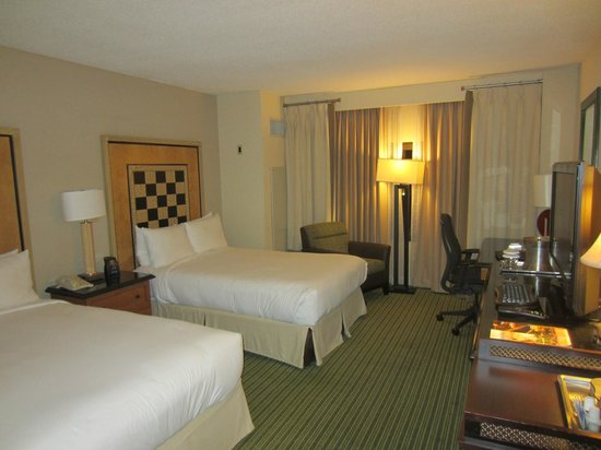 Hilton Orlando Lake Buena Vista : Double room