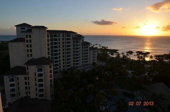 Marriott Ko Olina Beach Club: View from Ko Onlina