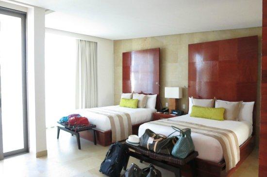 Rosewood Mayakoba: beds