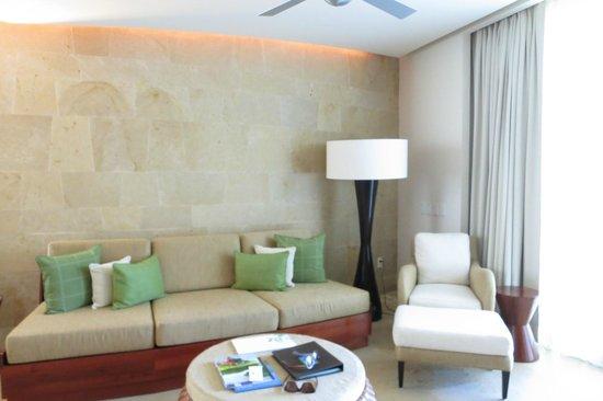 Rosewood Mayakoba: sitting area