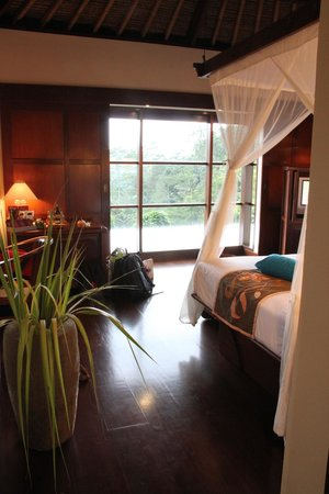 Hanging Gardens of Bali: View from the Master bedroom