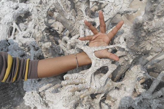 Wat Rong Khun:                                     Hand