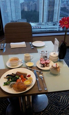 Shangri-la Hotel Shenzhen:                   朝食