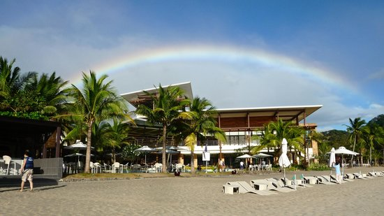 Pico Sands Hotel:                   Captured this magnificent rainbow over Pico Beach Club